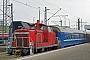 """MaK 600238 - DB Schenker """"363 649-5"""" 29.01.2011 - Basel, Badischer BahnhofWerner Schwan"""