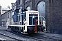 "MaK 600239 - DB ""261 650-6"" 01.08.1986 - Kassel, AusbesserungswerkNorbert Lippek"