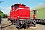 """MaK 600243 - TrainLog """"261 654-8"""" 03.10.2019 - Mannheim-Friedrichsfeld, HEMSteffen Hartz"""