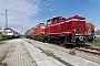 """MaK 600243 - TrainLog """"261 654-8"""" 25.10.2020 - Mannheim-RheinauErnst Lauer"""