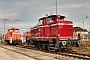 "MaK 600243 - TrainLog ""261 654-8"" 11.12.2020 - Mannheim-RheinauHarald Belz"