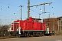 """MaK 600249 - Railion """"363 660-2"""" 30.12.2008 - Wanne-Eickel, HauptbahnhofMartin Weidig"""