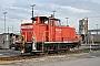 """MaK 600253 - DB Schenker """"363 664-4"""" 04.10.2014 - Mannheim, RangierbahnhofJens Grünebaum"""