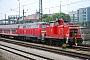 """MaK 600254 - DB Schenker """"363 665-1"""" 26.04.2009 - MünchenRaphael Krammer"""
