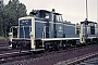 "MaK 600256 - DB ""261 667-0"" 19.07.1985 - Kassel, AusbesserungswerkNorbert Lippek"