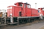 """MaK 600265 - DB Cargo """"363 676-8"""" 03.04.2016 - Seevetal, Rangierbahnhof MaschenAndreas Kriegisch"""