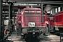 """MaK 600269 - DB """"261 680-3"""" 06.07.1975 - Hamm (Westfalen), BahnbetriebswerkMichael Hafenrichter"""