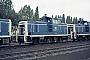 "MaK 600276 - DB ""261 687-8"" 19.07.1985 - Kassel, AusbesserungswerkNorbert Lippek"