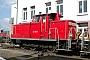 """MaK 600277 - Railion """"363 688-3"""" 12.03.2006 - Mannheim, BahnbetriebswerkErnst Lauer"""