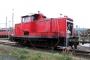 """MaK 600280 - Railion """"363 691-7"""" 02.09.2007 - Hagen-Vorhalle, BetriebshofPeter Gerber"""
