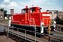 """MaK 600281 - Railion """"363 692-5"""" 09.08.2004 - Cottbus, AusbesserungswerkOliver Wadewitz"""