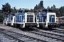 "MaK 600282 - DB ""261 693-6"" 01.08.1986 - Kassel, AusbesserungswerkNorbert Lippek"