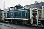 "MaK 600282 - DB ""261 693-6"" 04.04.1986 - Kassel, AusbesserungswerkNorbert Lippek"