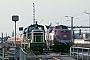 "MaK 600282 - DB ""261 693-6"" 13.08.1984 - Hamm (Westfalen), Bahnbetriebswerk PIngmar Weidig"