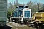 "MaK 600283 - DB ""261 694-4"" 27.04.1984 - Kassel, AusbesserungswerkNorbert Lippek"