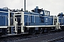 "MaK 600286 - DB ""261 697-7"" 19.07.1985 - Kassel, AusbesserungswerkNorbert Lippek"