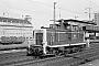 """MaK 600288 - DB """"361 699-2"""" __.03.1987 - Essen, HauptbahnhofRainer Wittbecker [†], Archiv Christoph Beyer"""