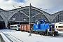 "MaK 600303 - DB Services ""363 006-6"" 12.02.2021 - Leipzig, HauptbahnhofFrank Thomas"