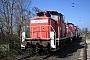 """MaK 600306 - DB Schenker """"363 717-0"""" 23.03.2011 - Mainz-Bischofsheim, BetriebswerkMatthias Kraus"""