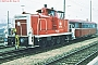 "MaK 600307 - DB ""365 718-6"" 11.02.1989 - Augsburg, HauptbahnhofKlaus J.  Ratzinger"