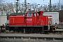 """MaK 600311 - DB Schenker """"363 722-0"""" 06.01.2012 - Karlsruhe HbfYannick Hauser"""