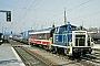 "MaK 600313 - DB ""361 724-8"" 26.04.1988 - Regensburg, HauptbahnhofStefan Motz"