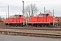 """MaK 600315 - DB Schenker """"363 726-1"""" 18.01.2014 - Seevetal-Maschen, RangierbahnhofAndreas Kriegisch"""