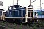 "MaK 600386 - DB AG ""360 939-3"" 01.05.1994 - Heidelberg, BahnbetriebswerkErnst Lauer"