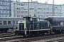 """MaK 600393 - DB """"360 033-5"""" 08.03.1991 - Frankfurt (Main), HauptbahnhofIngmar Weidig"""