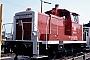 """MaK 600394 - DB """"360 034-3"""" 21.07.1990 - Darmstadt, BahnbetriebswerkErnst Lauer"""