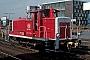 "MaK 600399 - DB ""364 902-7"" 10.04.1991 - Hannover, HauptbahnhofKevin Prince"