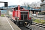 """MaK 600418 - DB Schenker """"363 103-3"""" 21.02.2016 - Freiburg (Breisgau), HauptbahnhofTobias Schmidt"""