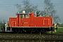 """MaK 600422 - DB Cargo """"363 107-4"""" 16.03.2002 - Graben-Neudorf  Werner Brutzer"""
