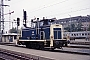 "MaK 600429 - DB ""361 114-2"" 26.10.1987 - Nürnberg, HauptbahnhofNorbert Lippek"