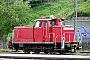 """MaK 600431 - DB Schenker """"363 116-5"""" 21.04.2009 - PassauWolfgang Platz"""