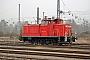 """MaK 600439 - Railion """"363 124-9"""" 18.02.2008 - Wustermark, RangierbahnhofRudi Lautenbach"""