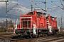 """MaK 600439 - TrainLog """"363 124-9"""" 22.01.2021 - Oberhausen, Abzweig MathildeRolf Alberts"""