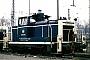"""MaK 600443 - DB """"365 128-8"""" 08.12.1991 - Wanne-Eickel, HauptbahnhofMichael Kuschke"""