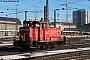 """MaK 600443 - DB Cargo """"363 128-0"""" 16.01.2019 - München, HauptbahnhofFrank Weimer"""