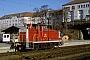 """MaK 600447 - DB Cargo """"365 132-0"""" 13.01.2001 - Regensburg, HauptbahnhofWerner Brutzer"""