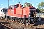 """MaK 600451 - DB Schenker """"363 136-3"""" 19.09.2013 - StralsundTheo Stolz"""