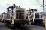 """MaK 600460 - DB """"365 145-2"""" 31.01.1988 - Mannheim, RangierbahnhofWerner Brutzer"""