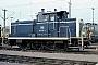 """MaK 600460 - DB """"365 145-2"""" 21.02.1989 - Mannheim, RangierbahnhofWerner Brutzer"""