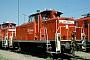 """MaK 600460 - DB Cargo """"365 145-2"""" 30.07.2001 - Mannheim, RangierbahnhofWerner Brutzer"""
