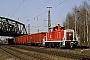 """MaK 600465 - DB Cargo """"365 150-2"""" 23.03.2000 - Karlsruhe, RangierbahnhofWerner Brutzer"""