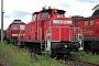 """MaK 600473 - Railion """"363 237-9"""" 08.08.2005 - Cottbus, AusbesserungswerkOliver Wadewitz"""