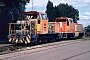 """MaK 700060 - Häfen Düsseld. """"DL 3"""" 24.05.1997 - Moers, Vossloh Schienenfahrzeugtechnik GmbH, Service-ZentrumFrank Glaubitz"""
