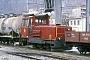 """Moyse 3550 - BVZ """"71"""" 23.03.1990 - Visp, BahnhofIngmar Weidig"""