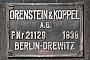 "O&K 21129 - SEMB ""V 36 231"" 16.09.2012 - Bochum-Dahlhausen, DGEG-MuseumGunther Lange"