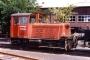 """O&K 25684 - Hafenbahn Hamburg """"216"""" 25.05.1981 - Hamburg, Kleiner Grasbrook, Betriebshof der HafenbahnArchiv Eisenbahnfreunde Mittelholstein e. V."""